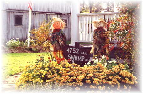 Gorham House Fall SCARECROW Greeters.......